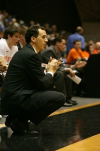 Mitch Henderson '98, who won three Ivy League championships as a  player at Princeton, is looking to capture his first Ivy crown as coach.